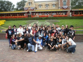 Global Mj Disney Day 2010 - 1st group Photo